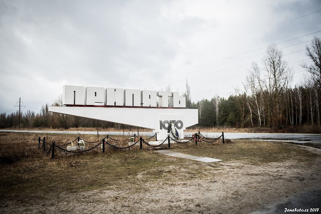 Černobyl a Pripjať